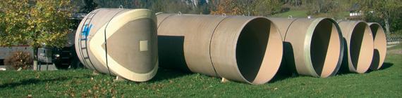 Hobas : réservoirs d'eau potable en Autriche